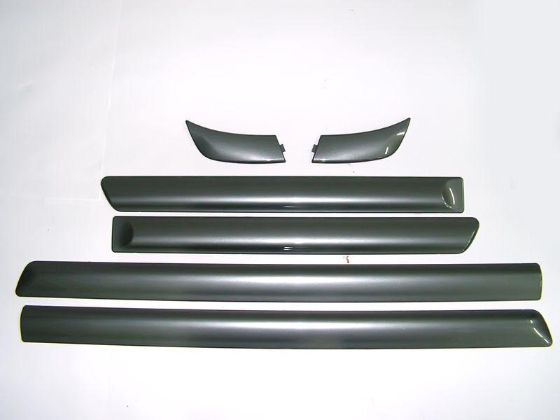 Elantra молдинг решетки радиатора на капот хром 07-, auto PARTS-492248